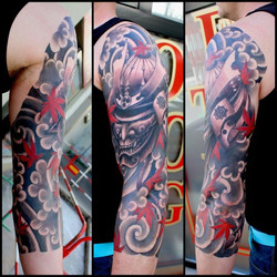 samurai helm