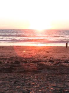 Ponto Beach Sunset