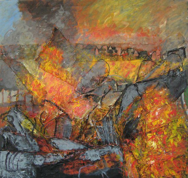 Des gouttes de feu