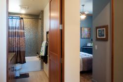 Bath and bedroom