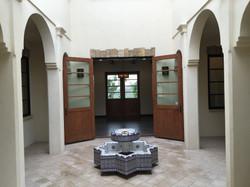 Moroccan courtyard
