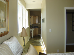 view to master bath