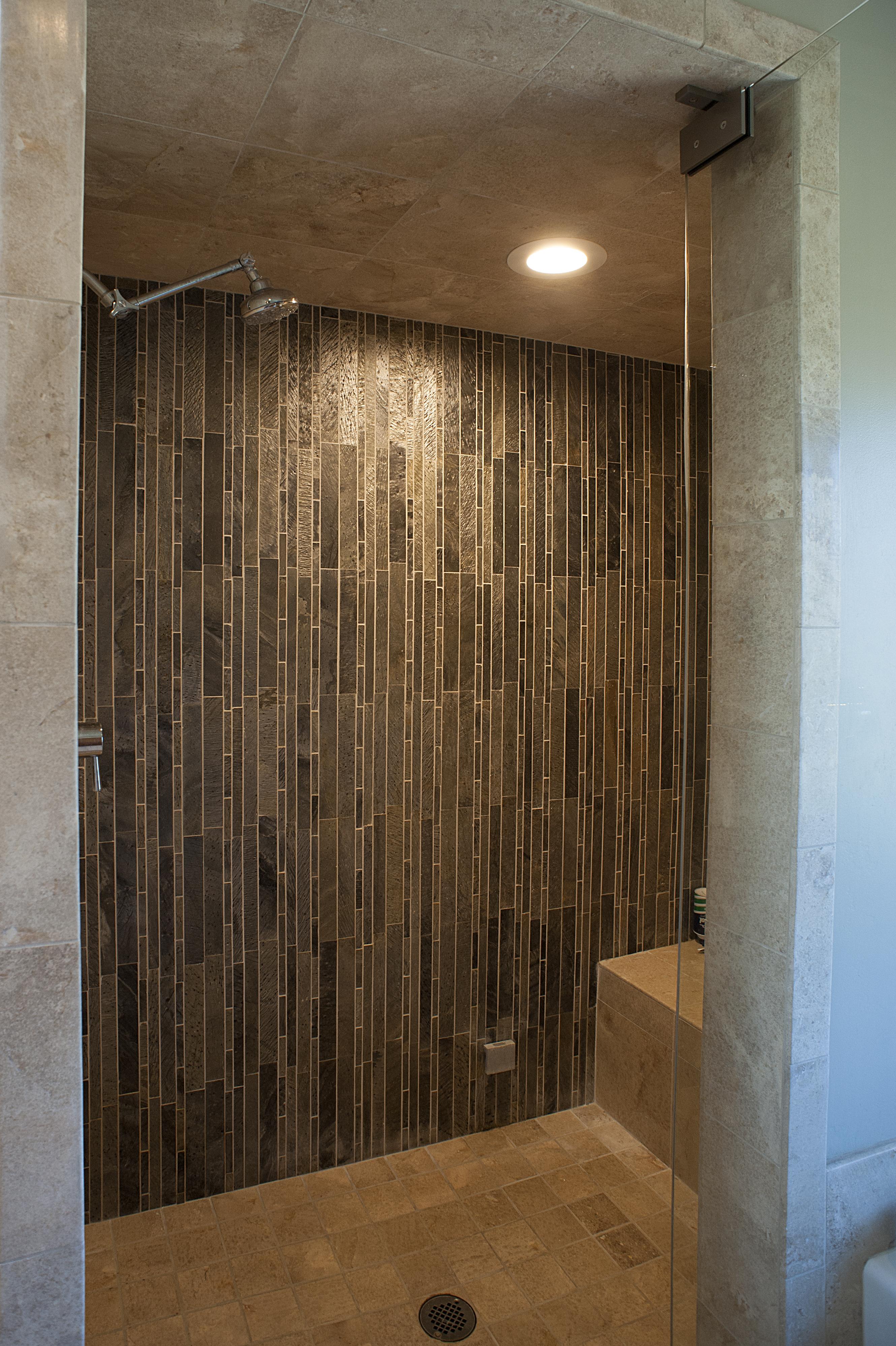 Steam bath interior