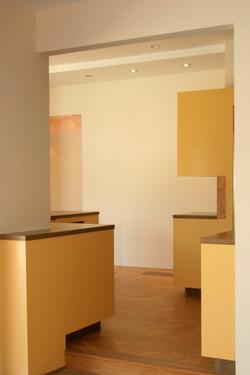 Contemporary custom cabinets
