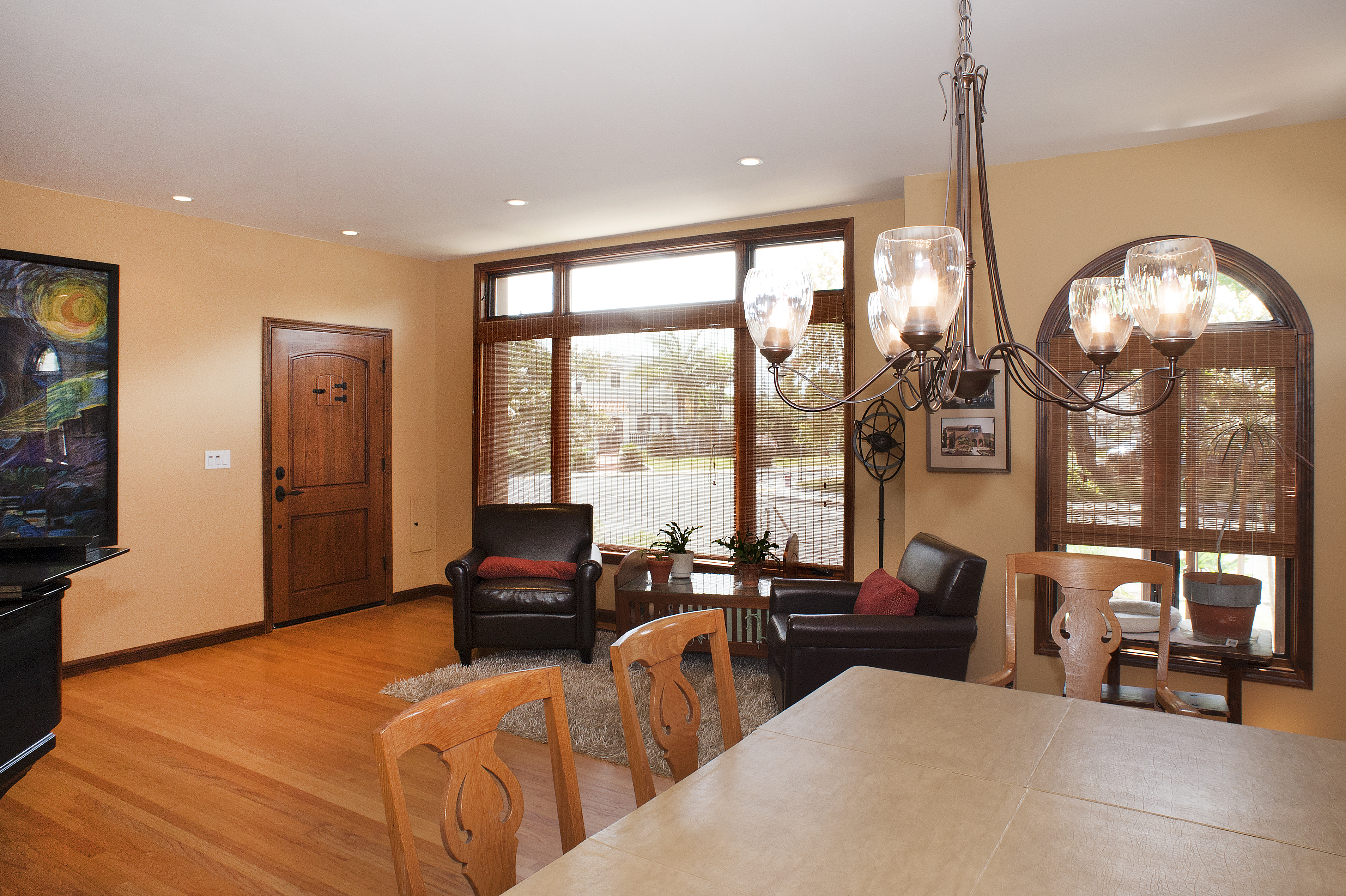 Great room towards entry