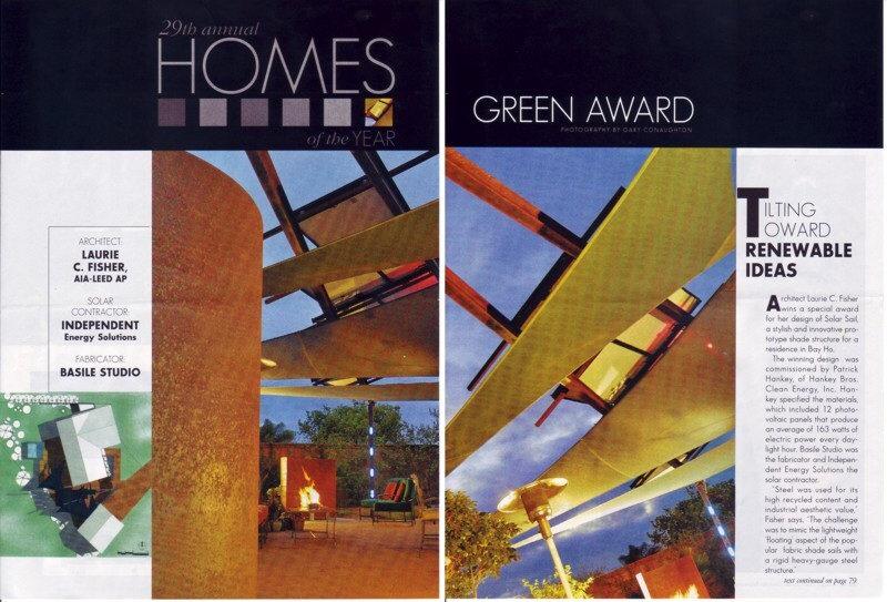 San Diego Green Award, Solar Sail, photovoltaics
