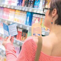 Notre rubrique radio du 24 février:  185 produits cosmétiques d'usage courant ont une compositio