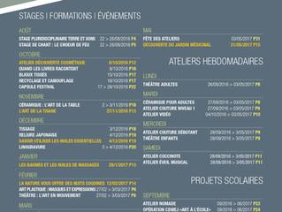 AromaRoots au Centre Culturel d'Andenne pour la saison 2016-2017