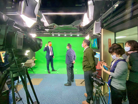 感恩 交通部中央氣象局程家平副局長率預報中心呂國臣主任、一組組長呂佩玲等來訪查天氣風險公司。