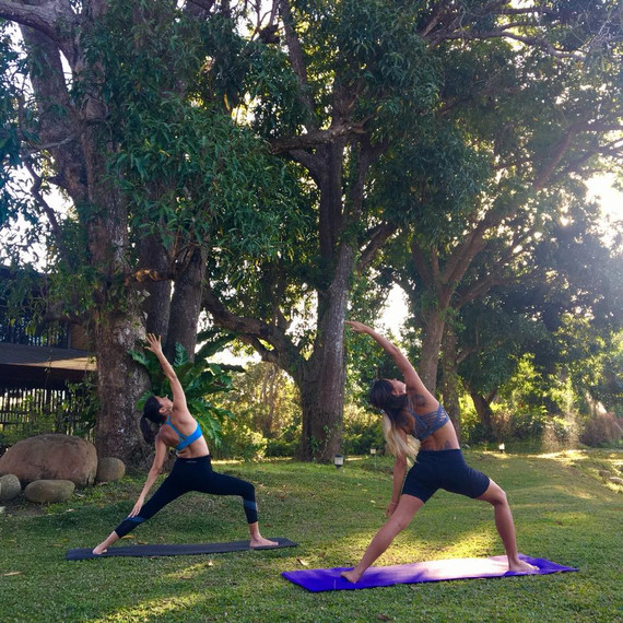 Yoga and Nature