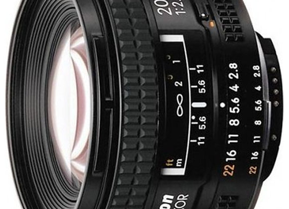 Nikon Lens 20mm f/2.8 D AF עדשה ניקון - יבואן רשמי