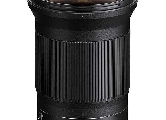 Nikon Z Lens NIKKOR Z 20mm f/1.8 S עדשה ניקון - יבואן רשמי