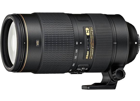Nikon Lens 80-400mm f/4.5-5.6G ED AFS VR עדשה ניקון - יבואן רשמי