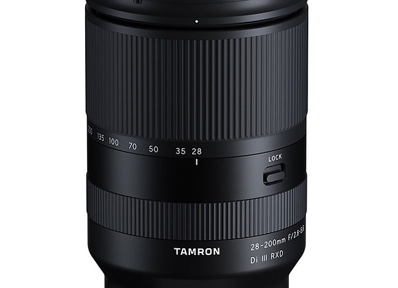 עדשת טמרון TAMRON 28-200mm F/2.8-5.6 Di III RXD FOR SONY E - יבואן רשמי