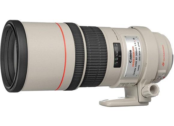 עדשת קנון Canon lens 300mm f/4 L IS USM