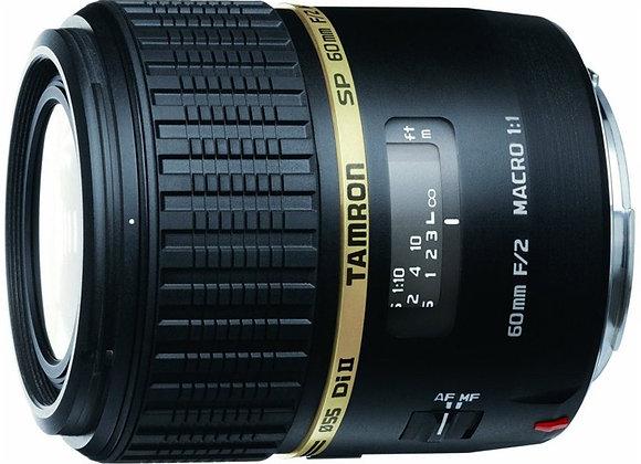 עדשה טמרון Tamron for Nikon 60mm f/2 MACRO - יבואן רשמי