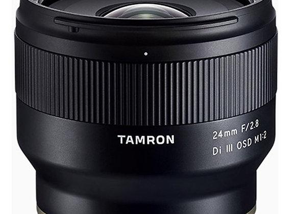 עדשה טמרון Tamron for Sony E 24MM F2.8 FF - יבואן רשמי