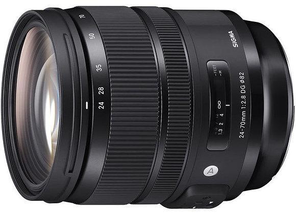 עדשת סיגמה Sigma for Canon 24-70mm f/2.8 DG OS HSM Art