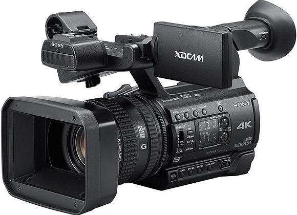 מצלמת וידאו מקצועי סוני Sony Pxw-Z150 4k Xdcam Handy Camcorder