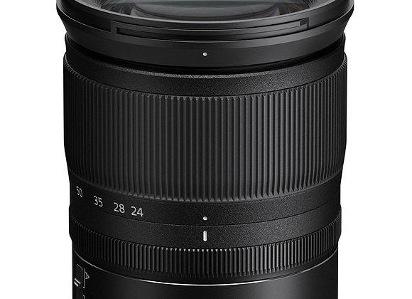 Nikon Z Lens Nikkor Z 24-70mm f/4 S עדשה ניקון - יבואן רשמי