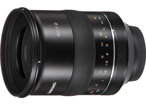 עדשת סאמיאנג Samyang for Canon EF XP 50mm f/1.2