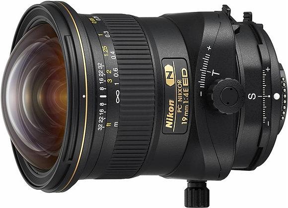 Nikon Lens PC NIKKOR 19mm f/4E ED Tilt-Shift עדשה ניקון - יבואן רשמי