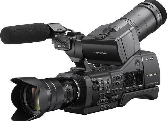 מצלמת וידאו מקצועי סוני Sony Nex-Ea50m Nxcam With 18-105mm F/4 Servo Zoom G Lens