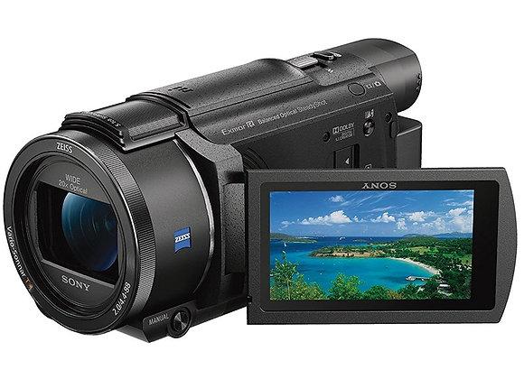 מצלמת וידאו חצי מקצועי סוני Sony FDR-AX55 4K Ultra HD Handycam Camcorder