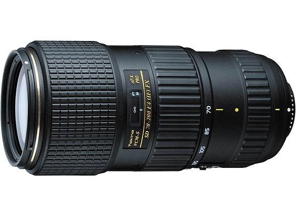 עדשת טוקינה Tokina for Nikon AT-X 70-200mm f/4 PRO FX VCM-S