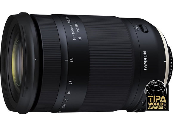 עדשת טמרון Tamron for Canon 18-400mm f/3.5-6.3 Di II VC HLD - יבואן רשמי