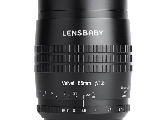 עדשה לנסבייבי Lensbaby Velvet 85mm Canon Rf