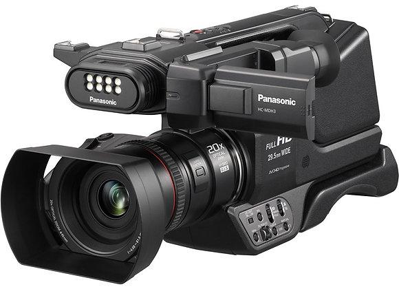 מצלמת וידאו מקצועי פאנסוניק Panasonic HC-MDH3