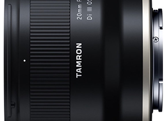 עדשה טמרון Tamron for Sony E 20mm f/2.8 Di III OSD M 1:2 - יבואן רשמי
