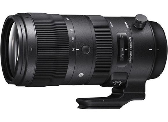 עדשת סיגמא Sigma for Canon 70-200 F2.8 DG OS HSM SPORT