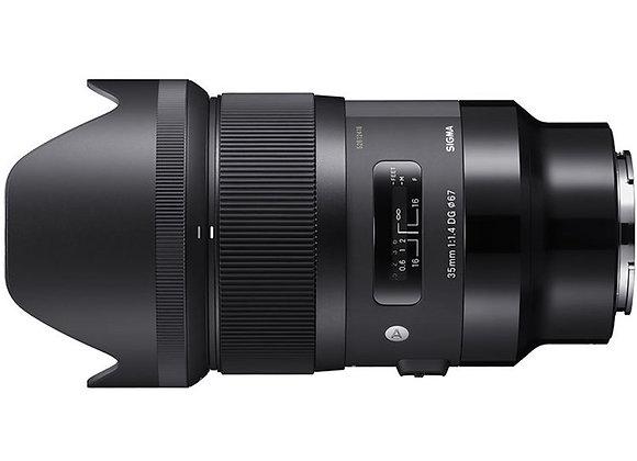 עדשת סיגמא Sigma for Sony E 35mm f/1.4 DG HSM Art