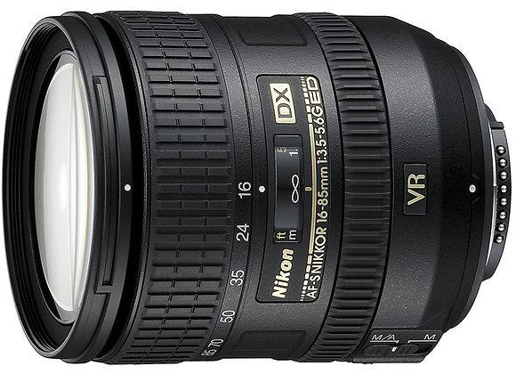 Nikon Lens 16-85mm f/3.5-5.6 G ED VR AF-S DX עדשה ניקון - יבואן רשמי