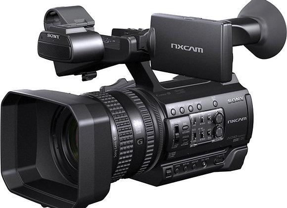 מצלמת וידאו מקצועי סוני Sony Hxr-Nx100 Full Hd Nxcam Camcorder