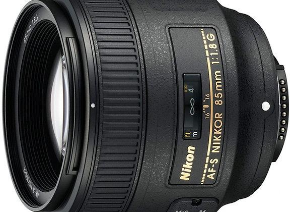 Nikon Lens 85MM F/1.8 G AF-S עדשה ניקון - יבואן רשמי