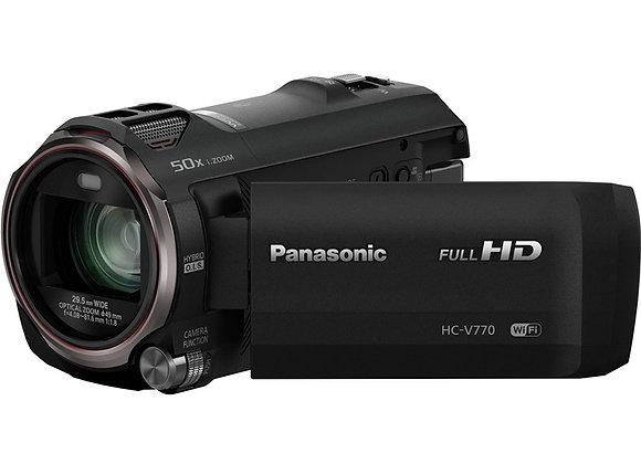 מצלמת וידאו מתקדמת פאנסוניק Panasonic HC-V770