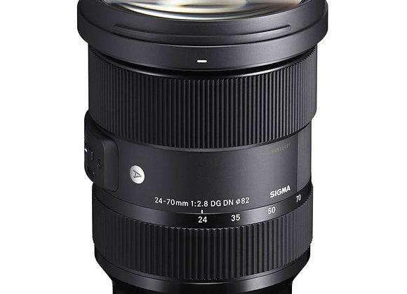 עדשה סיגמה Sigma for Sony E 24-70mm f/2.8 DN DG ART