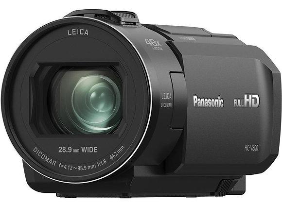מצלמת וידאו חצי מקצועי פנסוניק Panasonic Hc-V800