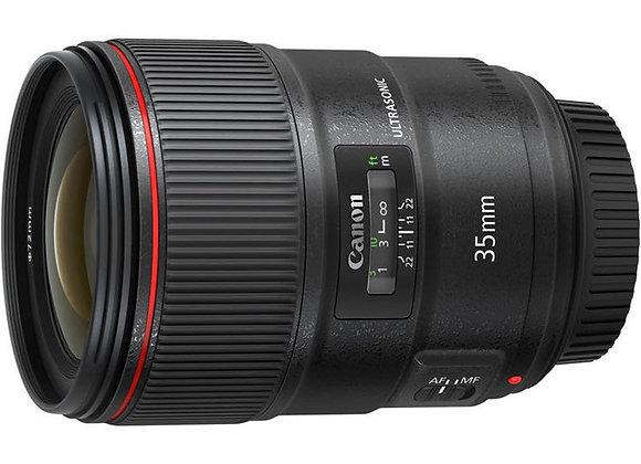 עדשת קנון Canon lens EF 35mm f/1.4L II USM