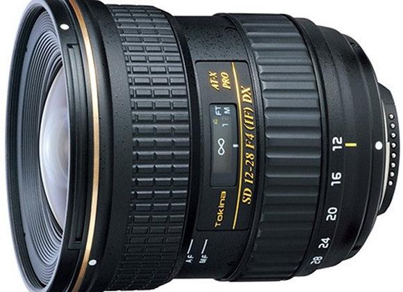 עדשה טוקינה Tokina for Nikon 12-28mm f/4.0 AT-X Pro DX
