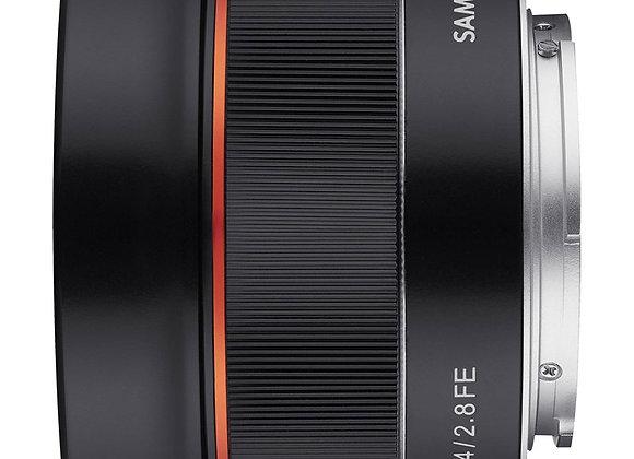 עדשת סאמיאנג Samyang for Sony E 24mm F/2.8 AF