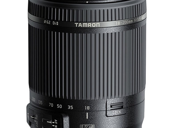 עדשת טמרון Tamron for Canon NEW 18-200 VC - יבואן רשמי