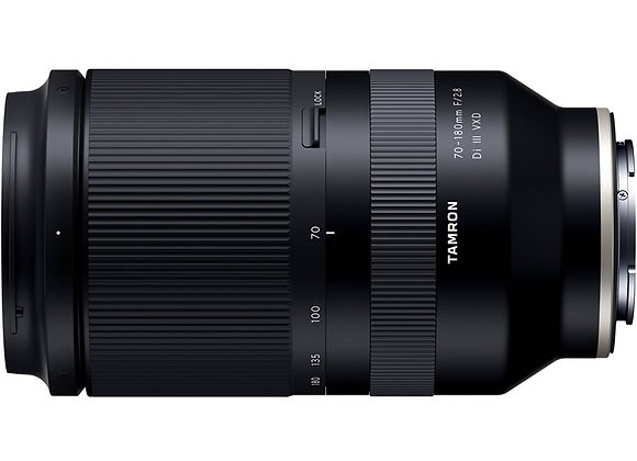 עדשת טמרון Tamron for Sony E 70-180mm f/2.8 Di III VXD - יבואן רשמי