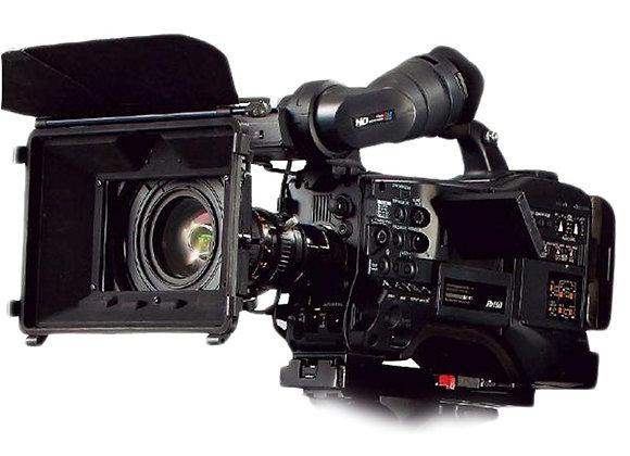 מצלמת וידאו מקצועי פאנסוניק Panasonic HPX372