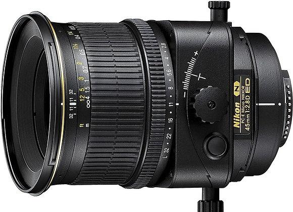 Nikon Lens 45mm f2.8 MDPC-E ED עדשה ניקון - יבואן רשמי