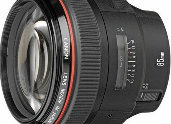 עדשת קנון Canon lens 85mm f/1.2 L II usm