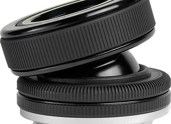 עדשה ליצירת אפקטים במצלמה Dslr Canon דגם:Lensbaby Composer